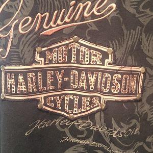 Harley-D zip up with hood